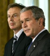 Bush et Blair reconnus coupables de crimes contre la Paix pour l'Irak thumbnail