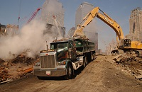 La destruction de preuves matérielles sur le site du World Trade Center thumbnail