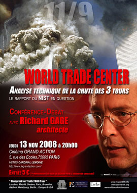 Richard Gage à Paris