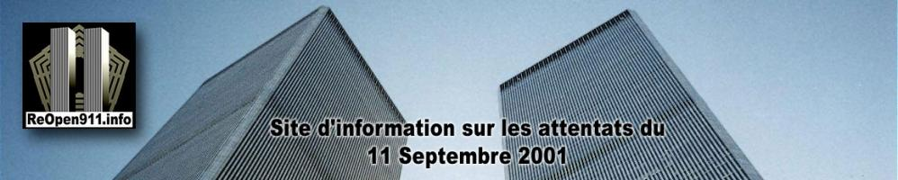 ReOpen911.info : Site d'information sur les attentats du 11 septembre 2001